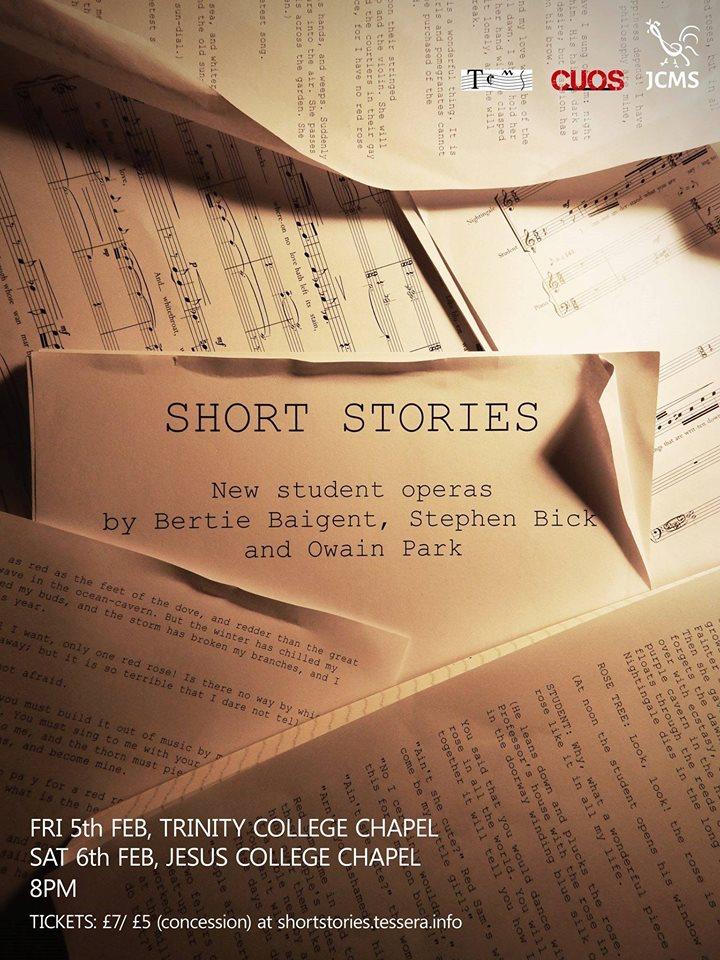 Short Stories Poster